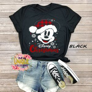 Mickey Mouse Disney Christmas Shirt, Christmas Tee